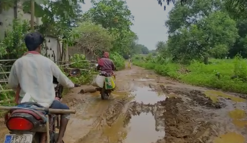 bad road condition