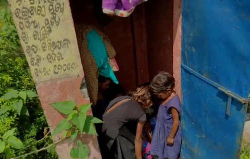 Eligible beneficiaries do not have housing, the whole family lives in the bathroom At Kendujhar