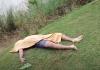 man drwoned in river